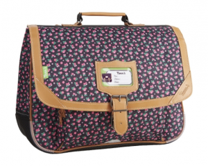Cartable Tann's fleuri